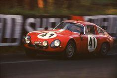 Alfa Romeo TZ 1 Le Mans 1964   Flickr - Photo Sharing!