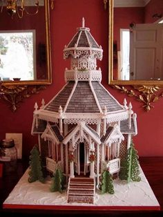 Tomorrow is Gingerbread House Day! So in case you want to try your hand at Gingerbread Greatness...