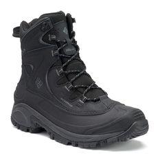 Columbia Bugaboot II Men's Waterproof Winter Boots, Grey (Charcoal)