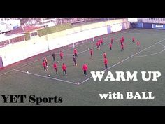 Soccer Training Warm Up Drills with Ball - Futbol Antrenman Öncesi Isınm...