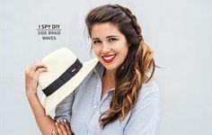 ASK THE EXPERT | Side Braid Waves | I SPY DIY