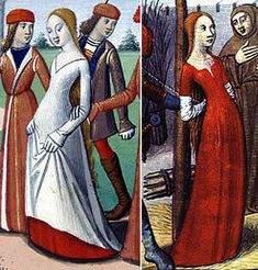 Martial d'Auvergne_Vigiles-de-charlesVII 1484  Joan of Arc taken to the stake  (on the same page she has taken off the white gown)