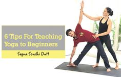 6 Tips For Teaching Yoga To Beginners #yoga #fitness #fitfam