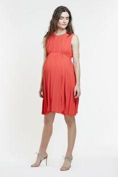 438cd2c328db4 The Ellen Maternity and Nursing Dress - the most stylish dress for wedding,  baby shower. Mitera
