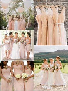 Wedding Philippines - Top 10 Most Flattering Bridesmaids Dress Colors - 07 Blush