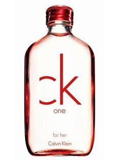 Ck One RED 3.4 Fl. Oz. Eau De Toilette Spray Women. Designer:calvin Klein,