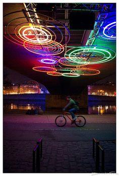 Fête des Lumières 2009 - Lyon by dominikfoto, via Flickr