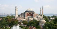 Church turned Mosque turned museum - Hagia Sophia in Istanbul.