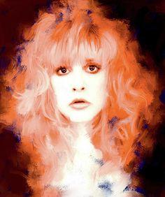 Stevie Nicks Wall Art - Painting - Stevie Nicks by Brian Tones Extensions, Buckingham Nicks, Stevie Nicks Fleetwood Mac, Thing 1, Gypsy Style, Rock N Roll, Beyonce, My Idol, Fine Art America