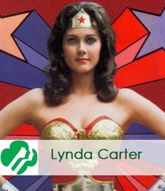 Lynda Carter from tv's Wonder Woman was a Girl Scout