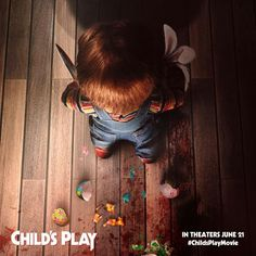 New Poster for Slasher-Horror 'Child's Play' - Starring Aubrey Plaza, Brian Tyree Henry, Mark Hamill, and Gabriel Bateman Hindi Movies, New Movies, Play Poster, New Poster, Aquaman, Harley Quinn, Disney Pixar, Starwars, Chucky Movies