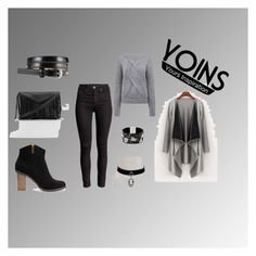 """Yoins"" by merima-sisic ❤ liked on Polyvore featuring Pink Tartan, women's clothing, women, female, woman, misses, juniors and yoins"