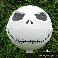 Comment faire la tête de Jack Skellington pour votre décor d'Halloween