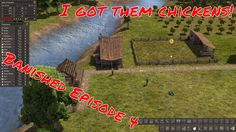Lets Play | Banished | I GOT CHICKENS! :D | Episode 4 Lets Play, Camera Phone, Let It Be, Videos, Youtube, Youtubers, Still Camera, Video Clip