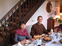 Notre bonheur : la découverte des maisons d'hôtes empreintes d'histoire (ici à Honfleur).