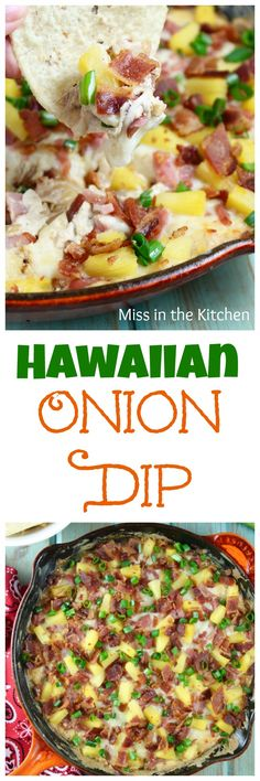Hawaiian Onion Dip
