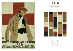 100 ans de couleurs au fil des tendances. Etapes