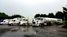 18 wheelers at #truck stop in #fortpayne #Alabama #trucking #trucker #truck drivers