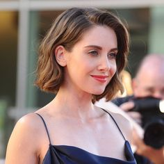 Alison Brie, short hair