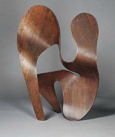 Ray Eames plywood sculpture, 1943 #eames #NEHERA inspiration