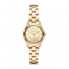 154e1eb74bf7 Michael Kors Runway Yellow Gold Steel 28mm Ladies  Watch Fields.ie