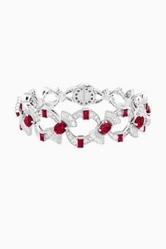 Ruby Jewelry, High Jewelry, Gemstone Jewelry, Diamond Jewelry, Jewelery, Diamond Bracelets, Bangle Bracelets, Bangles, Jacqueline Kennedy Onassis
