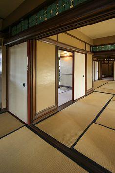 Yodokō Guest House/ Tazaemon Yamamura Residence. Ashiya, Japan. 1923. Frank Lloyd Wright