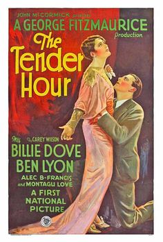 'The Tender Hour', 1929, Billie Dove and Ben Lyon
