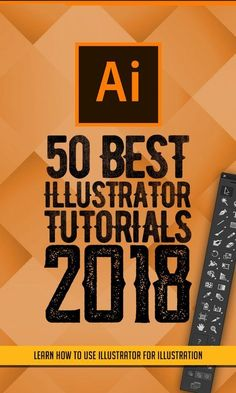 50 best Adobe Illustrator tutorials from 2018 - The 100 best photographs ever taken without photoshop Graphisches Design, Graphic Design Tutorials, Tool Design, Graphic Design Inspiration, Vector Design, Creative Design, Design Elements, Illustrator Design, Adobe Illustrator Tutorials