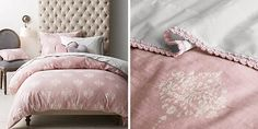Luxury Bedding Sets For Less Pink And Black Bedding, Blush Pink Bedroom, Daybed Bedding, Damask Bedding, Girl Bedding, Best Bedding Sets, Luxury Bedding Sets, Where To Buy Bedding, Beige Bed Linen