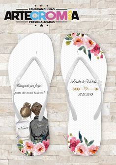 Chinelo Noiva e Noivo de Casamento Mug Printing, Designer Sandals, Hello Everyone, Save The Date, To My Daughter, Flip Flops, Dream Wedding, Fashion Trends, Women