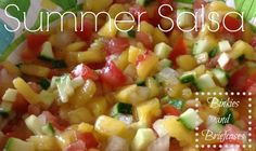 Summer Peach Salsa Recipe