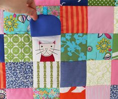 Peek a boo baby quilt   Flickr - Photo Sharing!