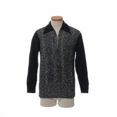 Vintage 50s 60s Mod Two Tone Sweater 1950s by CkshopperVintage