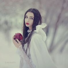 apple, white, and princess image