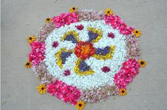 {Diwali Inspiration} Pookalam ideas by Vidya Nair | The Keybunch Decor Blog
