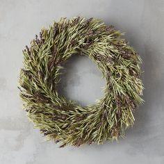 Lavender & Oat Wreath