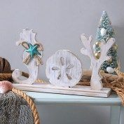 Bring a beachy blast to your December decor with our Coastal Joy Tabletop Sign! It's a perfect way to make a splash in any coastal Christmas collection! Beach Christmas Trees, Coastal Christmas Decor, Nautical Christmas, Tropical Christmas, Coastal Decor, Aqua Christmas, Coastal Living, Merry Christmas, Christmas Projects