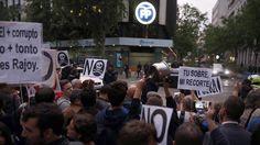 Podemos prepara manifestaciones para sacar a la calle la moción de censura contra Rajoy