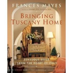 I WILL visit Tuscany one day! This book by Frances Mayes captures an array of styles and tones