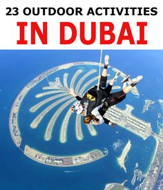 Dubai is usually known for Hot Weather Specially in Summer. And it seems Outdoor activities are Just not Possible. But Dubai is a very Vibrant City. Here are the 23 Outdoor Activities You can Enjoy in Dubai. Dubai Resorts, Beach Resorts, Dubai Activities, Outdoor Activities, Indoor Track, Dubai Offers, Air Balloon Rides, Visit Dubai, Bungee Jumping