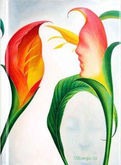 Flores Exoticas by Octavio Ocampo: Foiled Journal