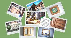 rustic natural wood furniture custom handmade in UK by MarcWoodJoinery Natural Wood Furniture, Wooden Furniture, Rustic Style, Modern Rustic, Wood Joinery, Etsy Uk, Handmade Furniture, All Design, 3 Weeks