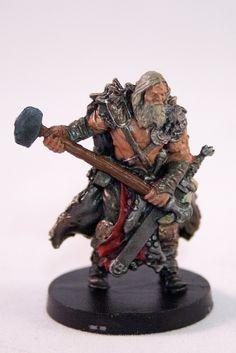 Blood Rage - Bear Clan - Hammer Warrior