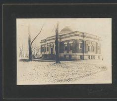 Hendricks Hall.  First Hanover College library building named after former U.S. Vice President, Thomas A. Hendricks, an 1841 Hanover graduate.