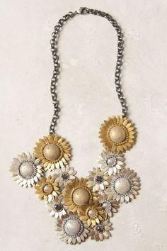 Field Metal Necklace - anthropologie.com
