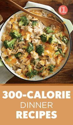 It's a tedious task to tabulate every morsel you put in your mouth, but there's a simpler and much more flexible strategy: Start a file of skinny recipes. Use this collection of low-calorie dinners as a starting point. As always, taste comes first, so we've pulled together our best recipes that are big on flavor and in step with all the latest food trends. | Cooking Light