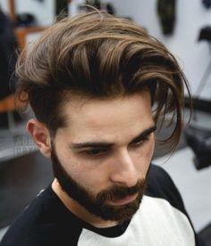 Men's Long Undercut Haircut