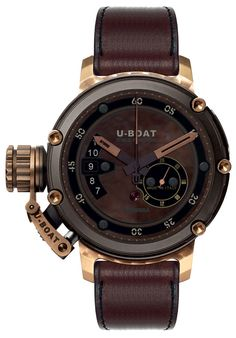 U-Boat watch brown design. Cost £€$ 4digits