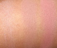 Sigma Enlight Collection Blush Swatches from the left: Peaceful, Mellow and Serene, November 2013